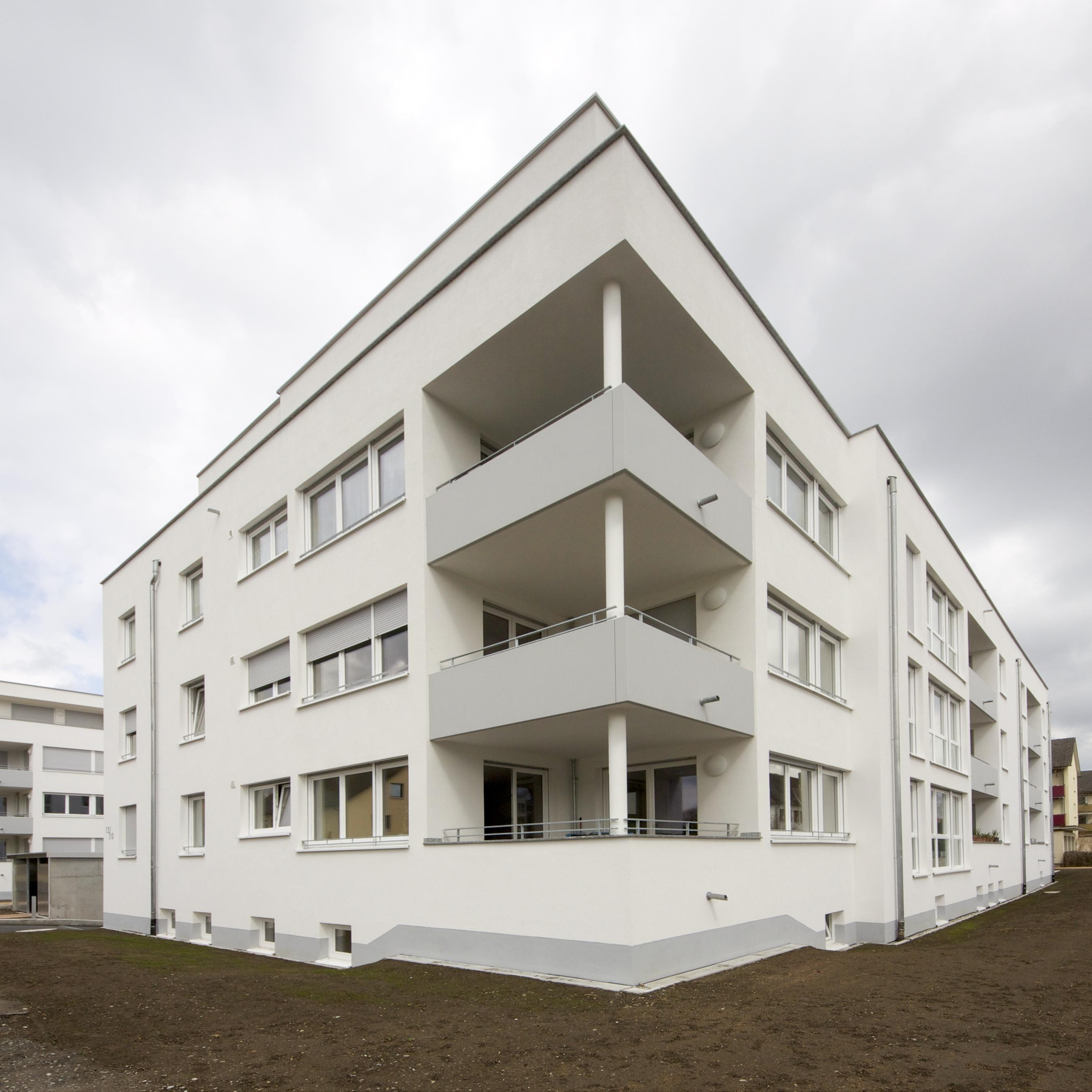 wohnanlage rheinfelden mit 31 wohnungen und qm wohnfl che kirchner architekten freiburg. Black Bedroom Furniture Sets. Home Design Ideas
