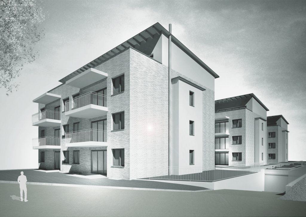 Mehrfamilienhäuser Umkirch Visualisierung 1